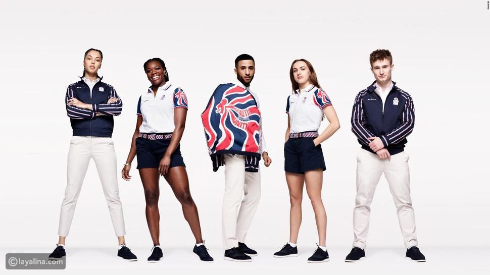 بن شيرمان تصمم أزياء منتخب المملكة المتحدة في أولمبياد طوكيو 2020