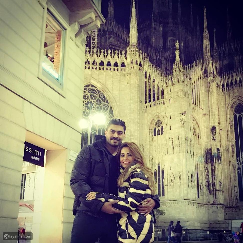 خالد سليم وزوجته خيرية