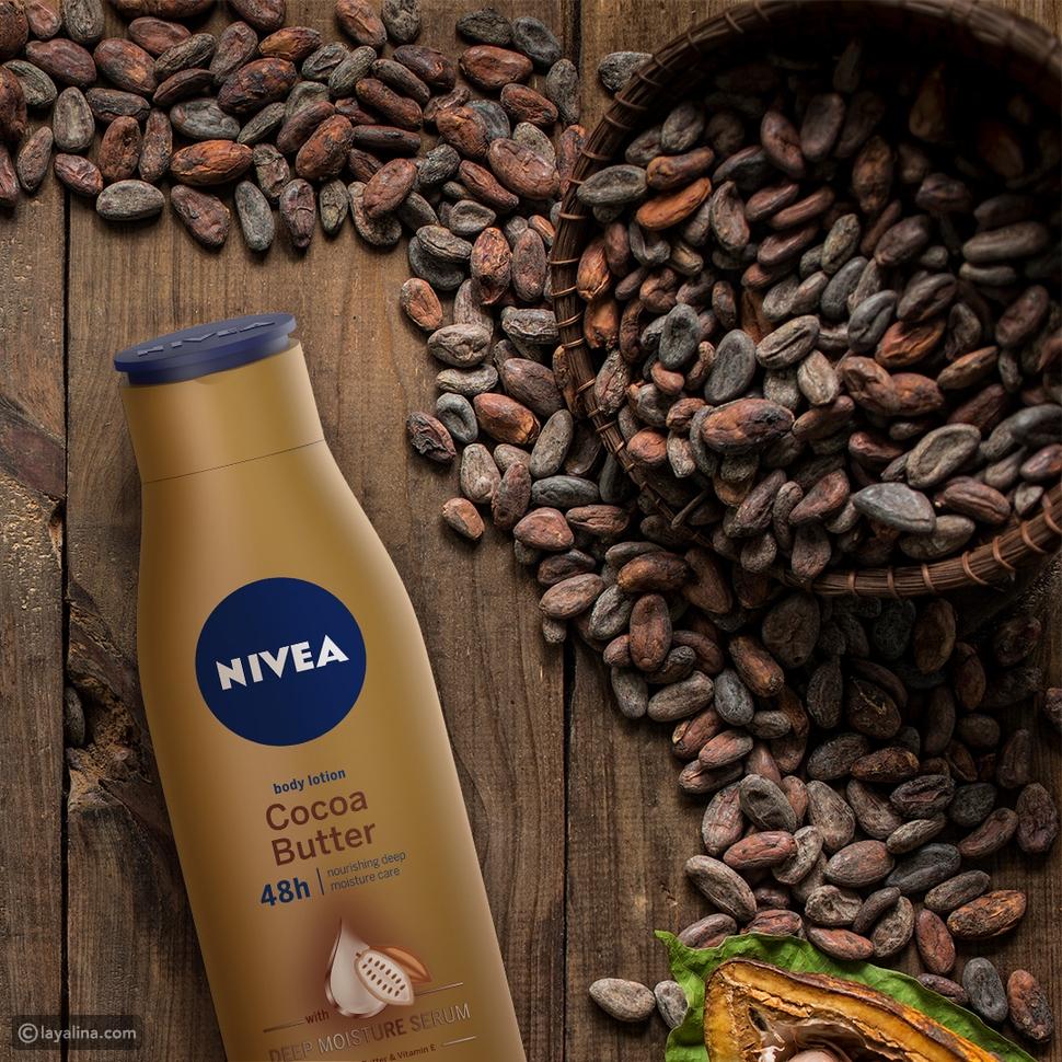 نيڤيا لوشن زبدة الكاكاو NIVEA LOTION COCOA BUTTER