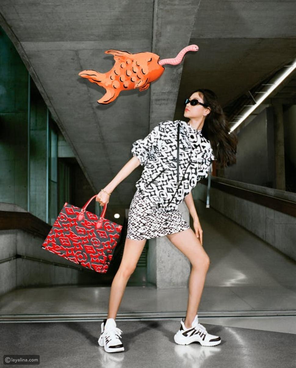Louis Vuitton تقدم طباعة مونوغرام جديدة من تصميم Urs Fischer