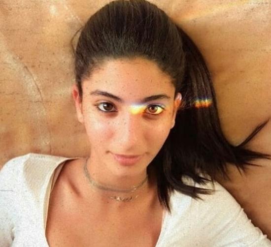 ابنة منى زكي وأحمد حلمي في أحدث صورها