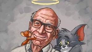 العالم يودع جين ديتش أشهر مخرج للرسوم المتحركة ورسام شخصيات توم وجيري