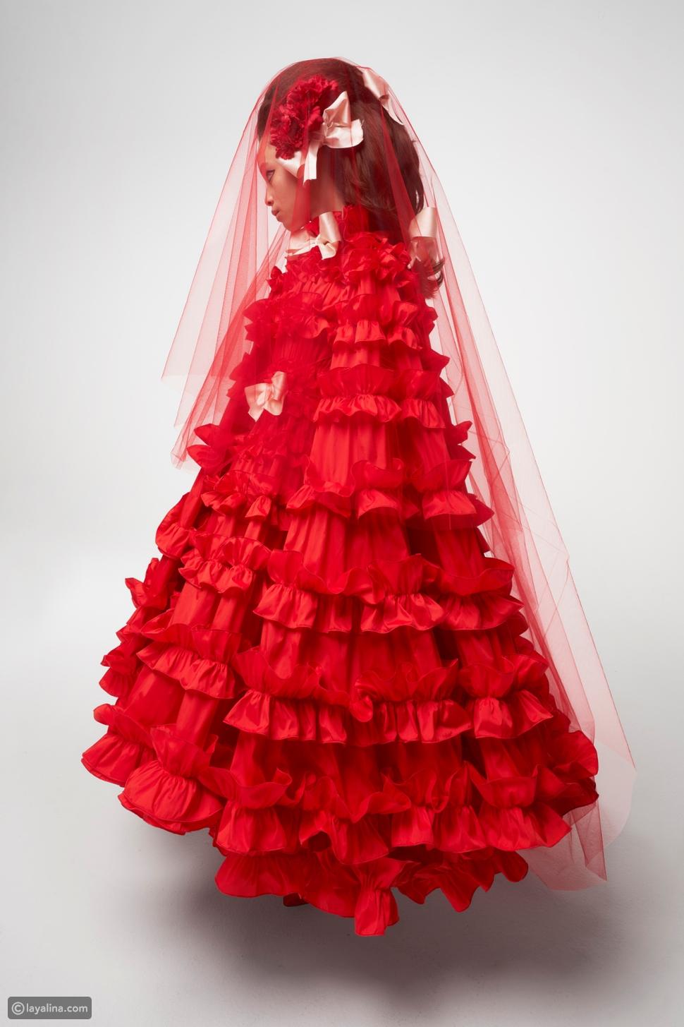 مجموعةGiambattista Vall للأزياء الراقية