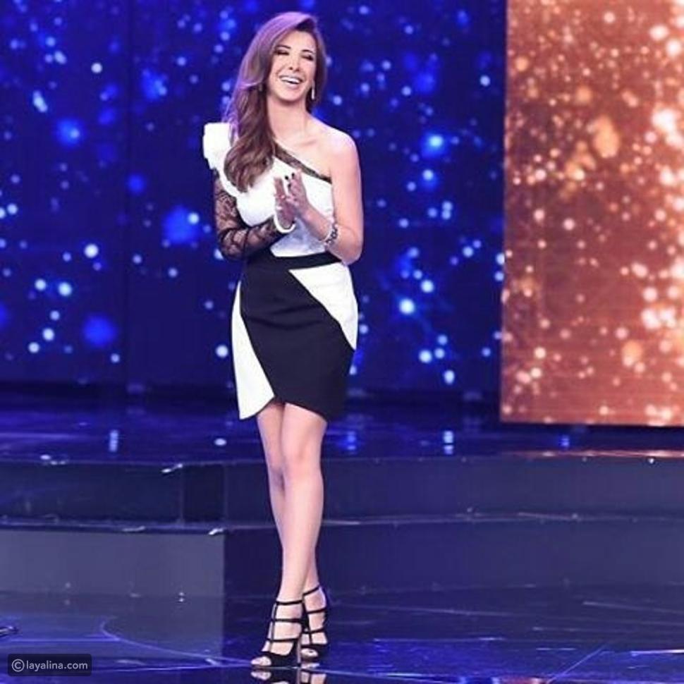 فستان نانسي عجرم من تصميم إيلي صعب