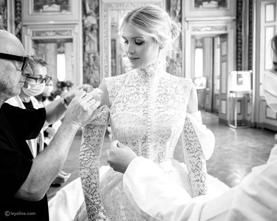 فستان زفاف الليدي كيتي سبنسر