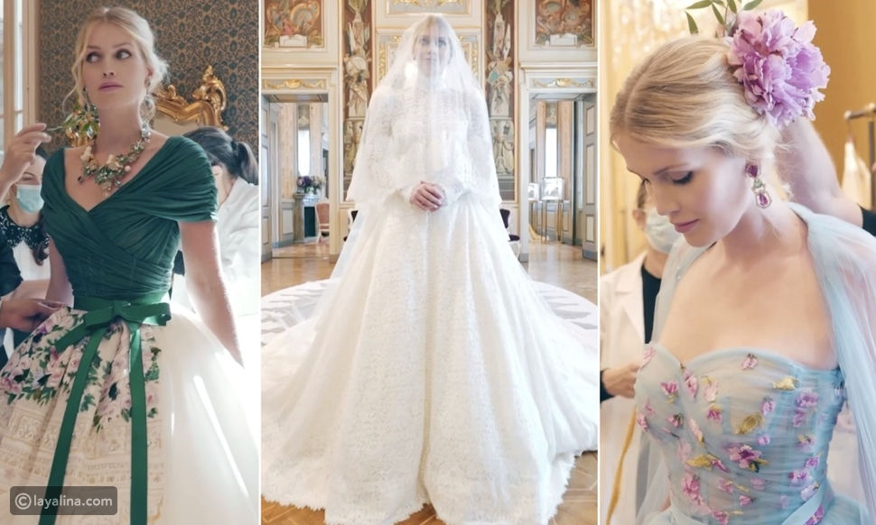 فساتين زفاف الليدي كيتي سبنسر