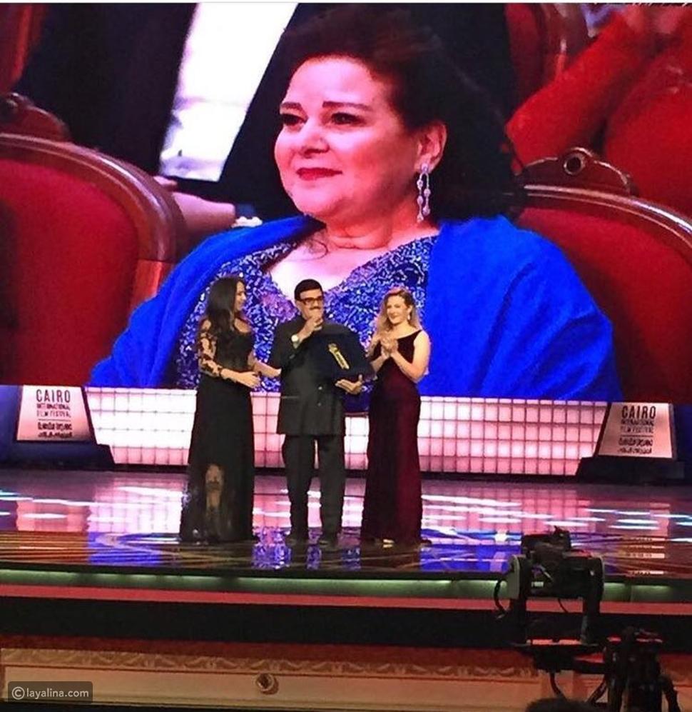 تكريم سمير غانم في مهرجان القاهرة السينمائي