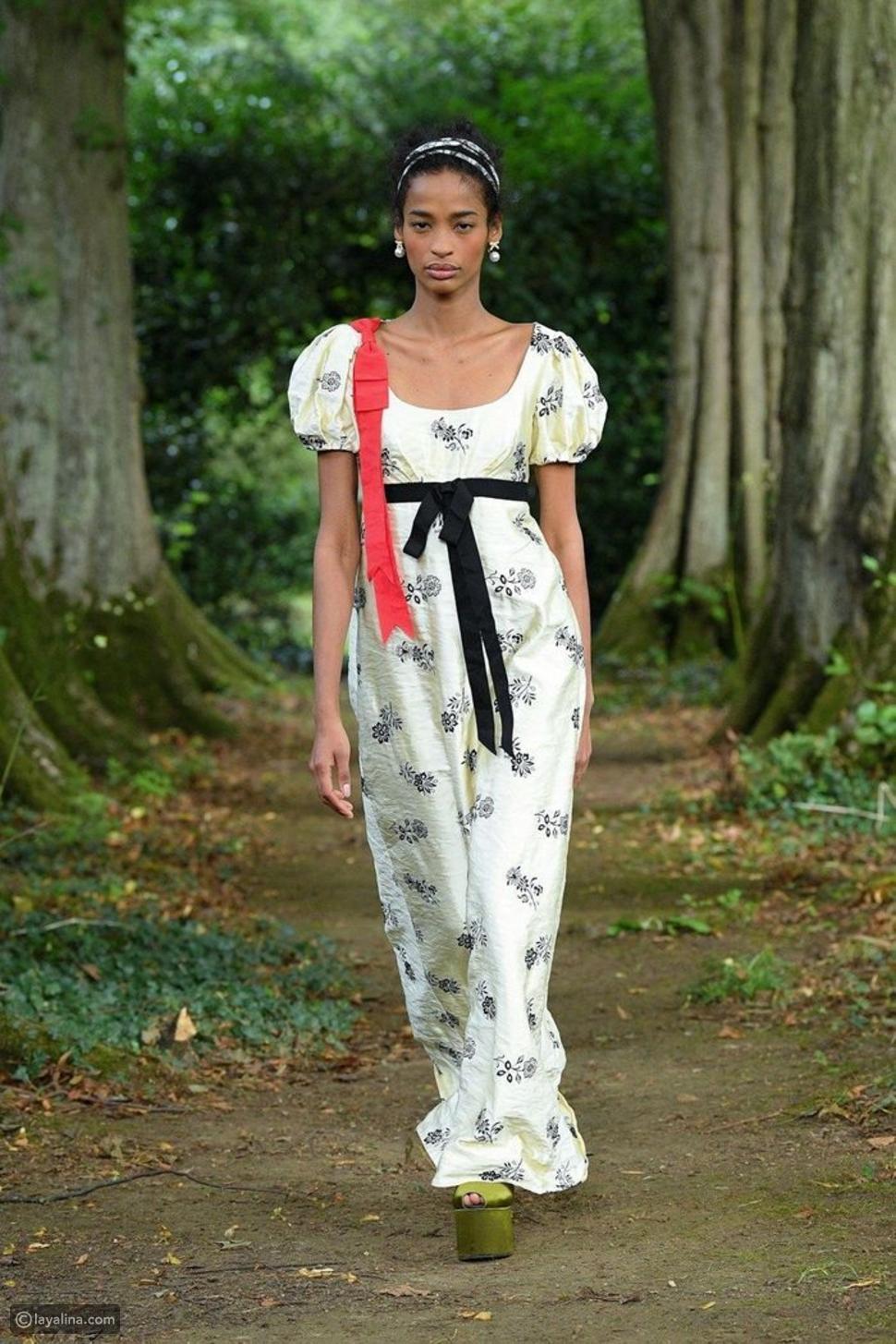 فستان من الطراز القديم من مجموعةErdem