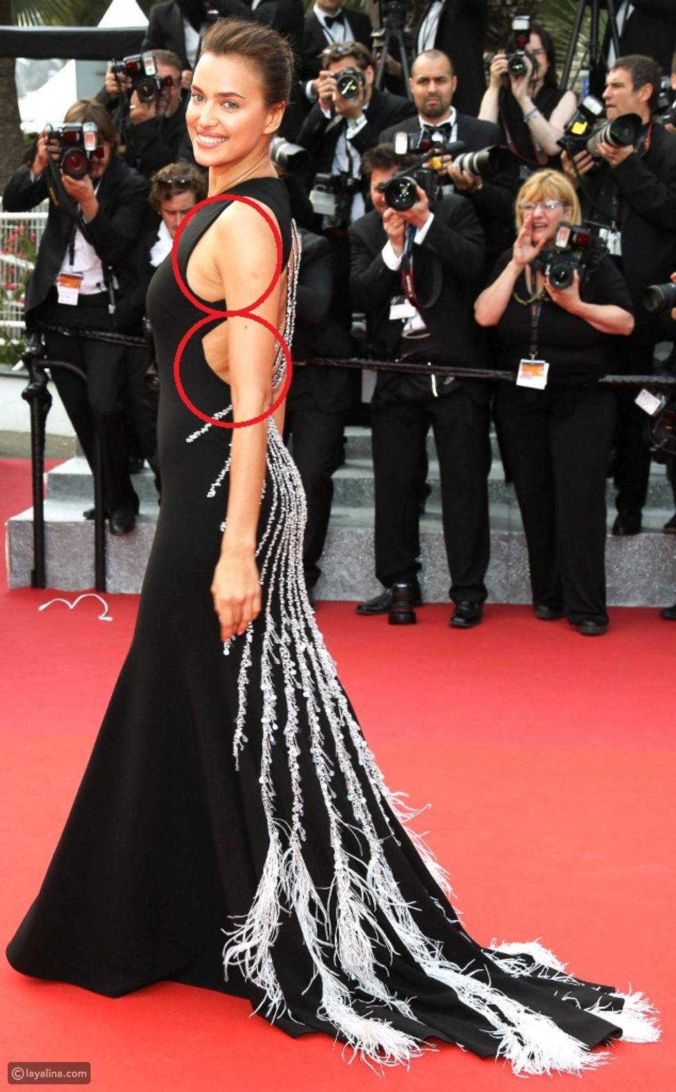 صور تظهر ترهلات صادمة لدى إيرينا شايك على السجادة الحمراء