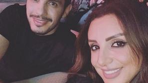 تصرف أنغام وزوجها الرومانسي في كواليس حفلها يتصدر مواقع التواصل