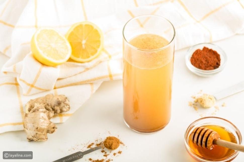 مشروب لتنظيف الجسم من السموم