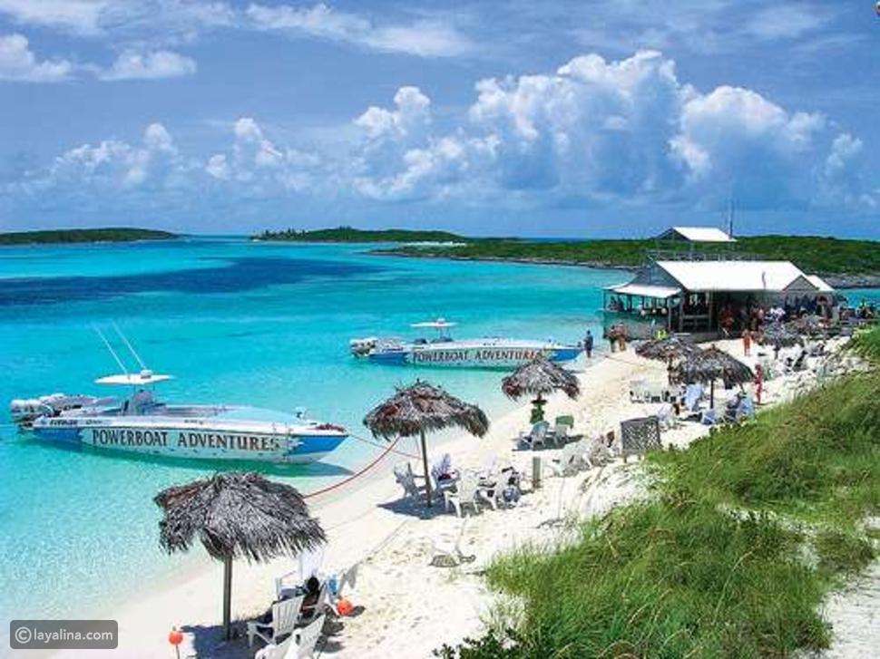 السياحة في جزر الباهاما