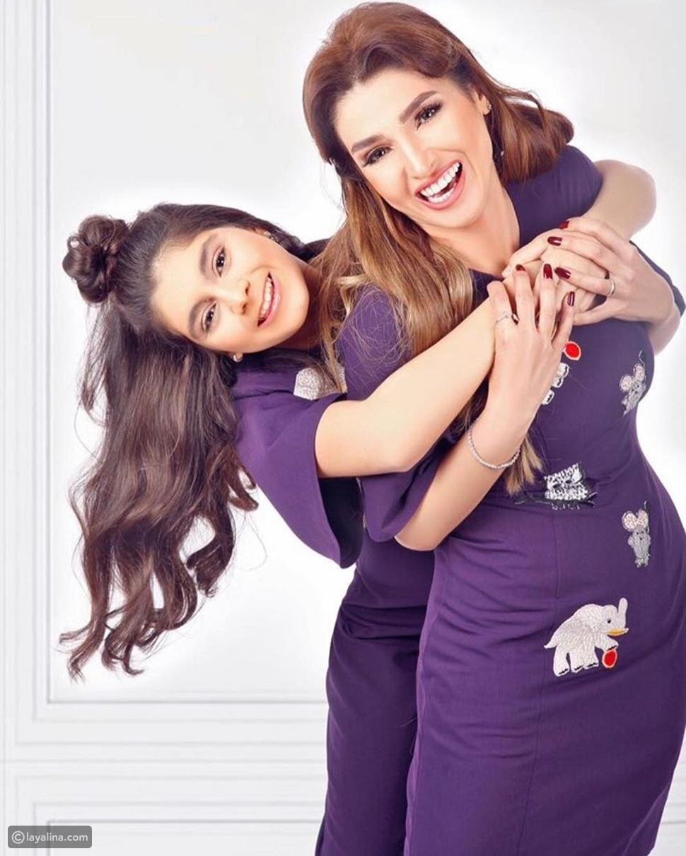 روجينا وابنتها مريم