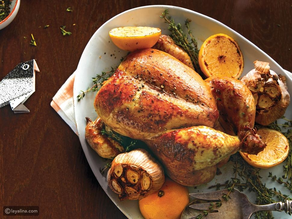 طريقة عمل دّجاج محمَّر