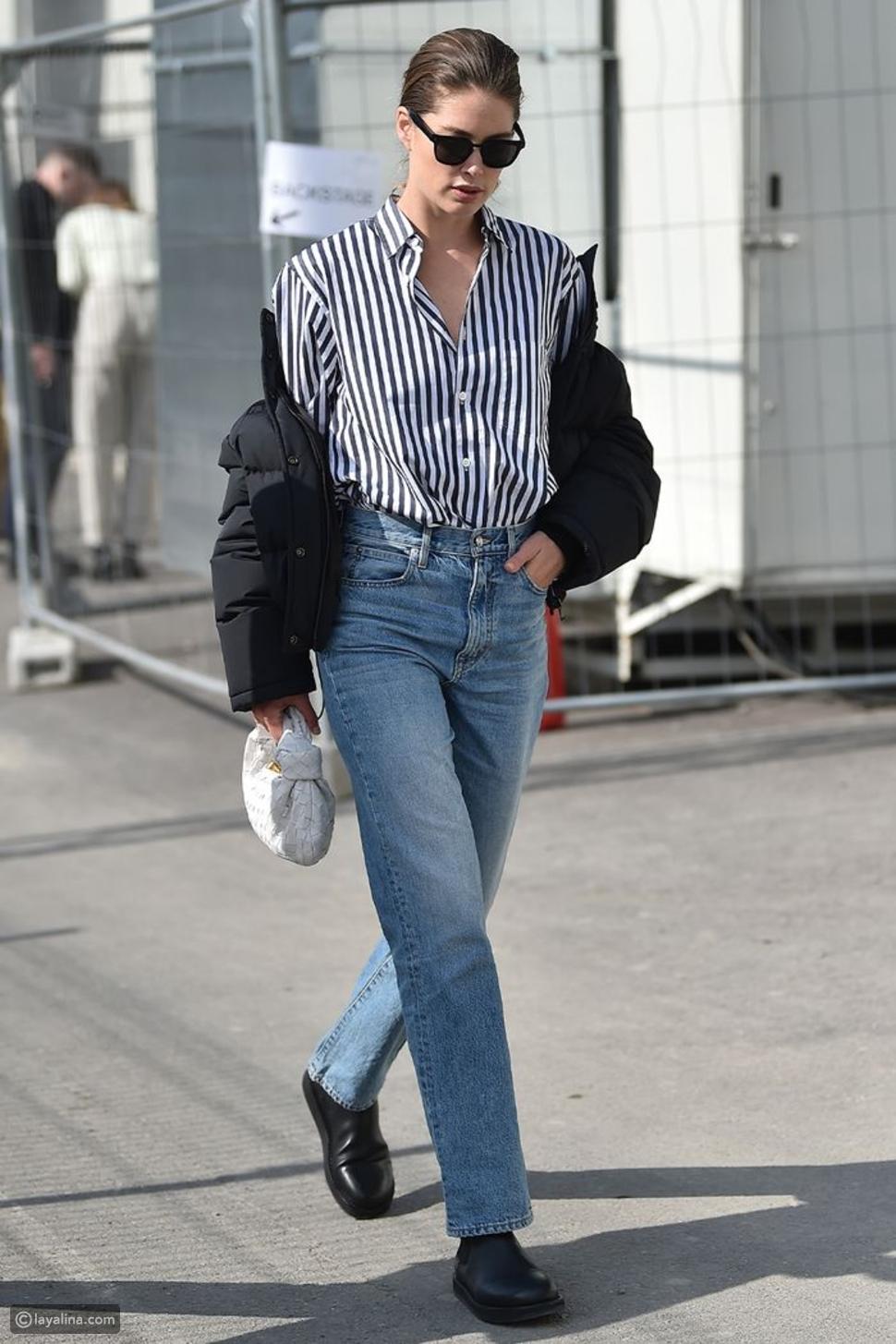 جينز مستوحى من السبعينات