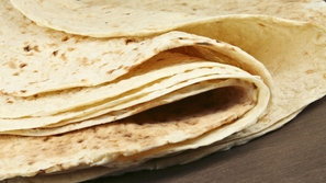خبز صاج بدون تخمير