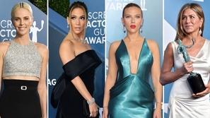 الساتان والترتر يسيطرا على إطلالات المشاهير في حفل جوائز SAG 2020
