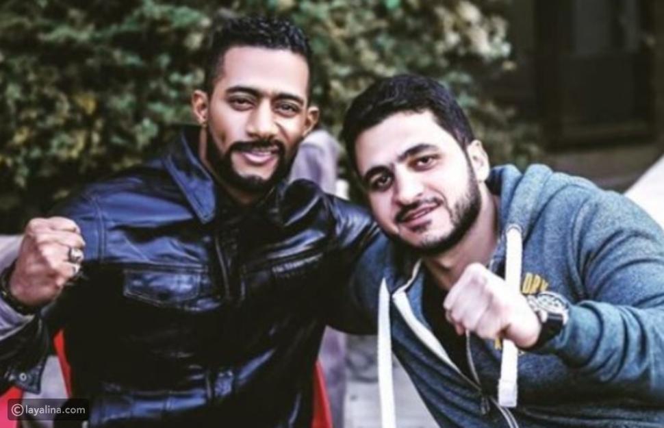 المخرج كريم السبكي مع الفنان محمد رمضان