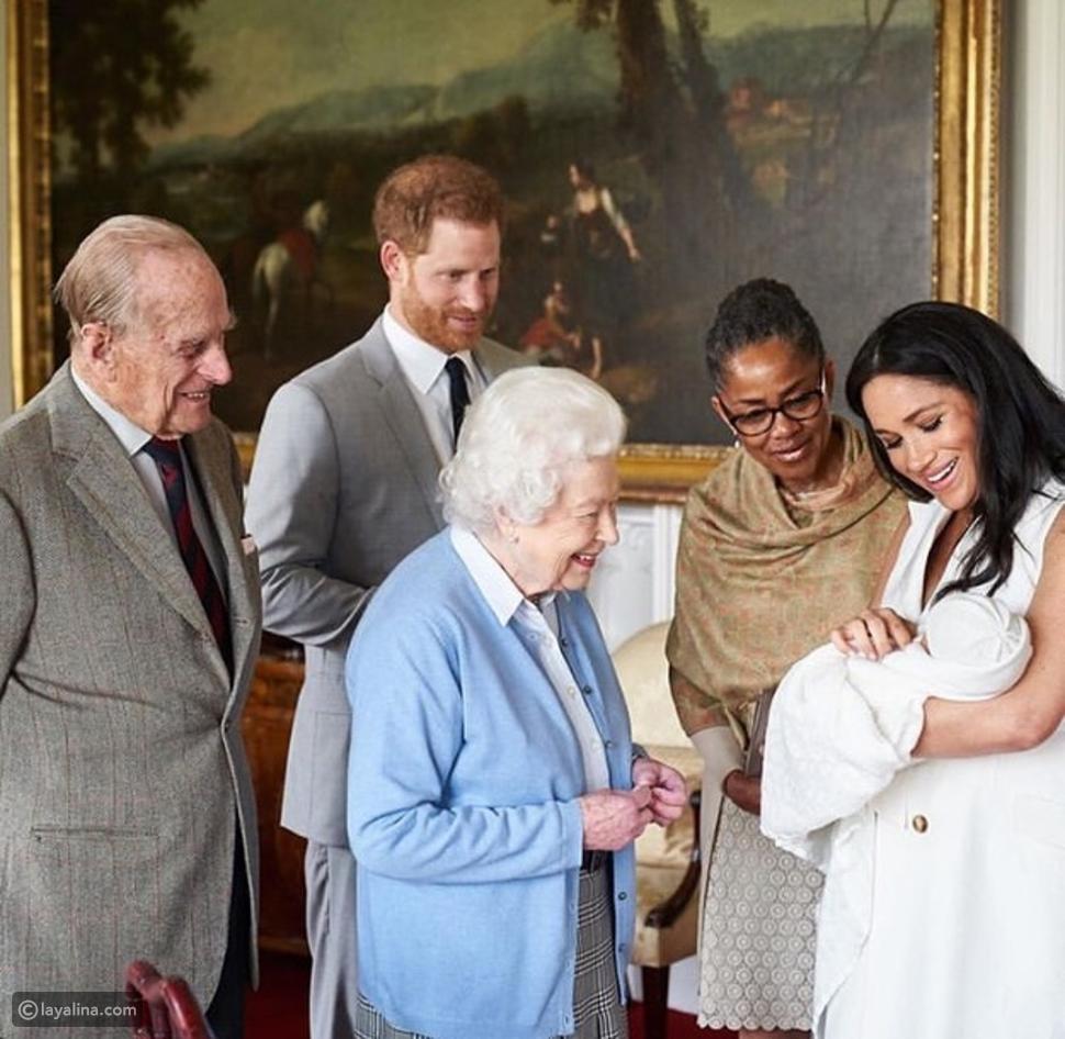 Archie Harrison Mountbatten-Windsor ابن ميغان ماركل