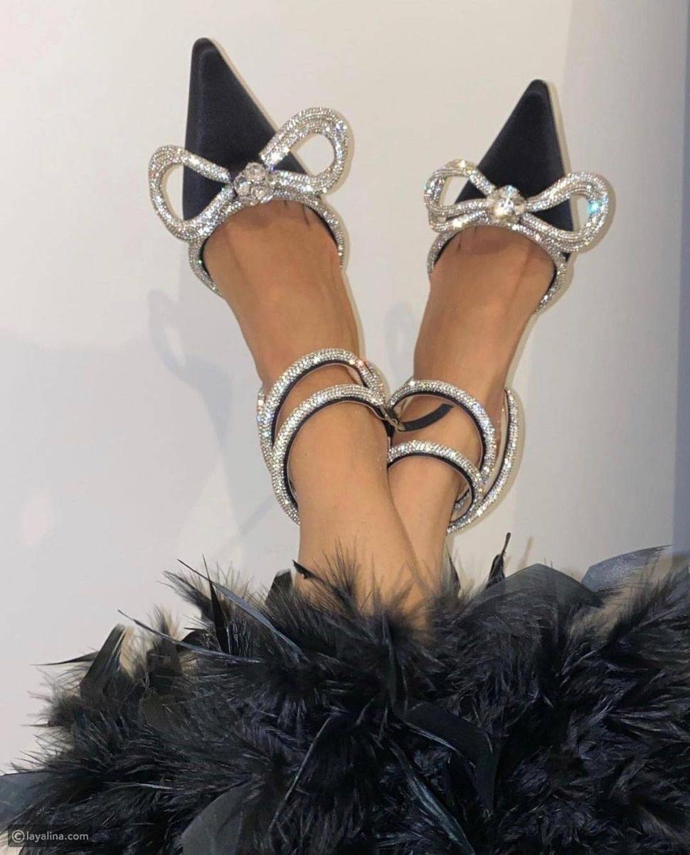 أحذية لامعة