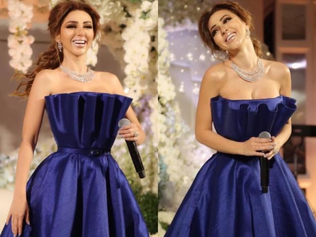 ميريام فارس أحيت حفل زفاف في مسقط