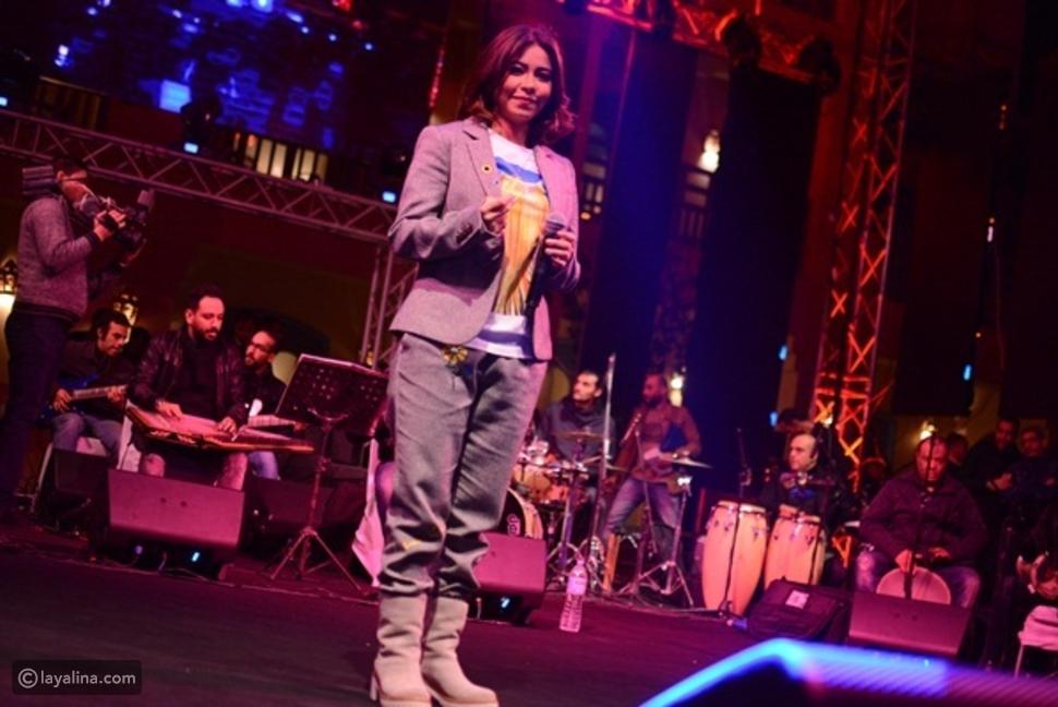 إطلالة شيرين عبد الوهاب في مهرجان طابا لتنشيط السياحة