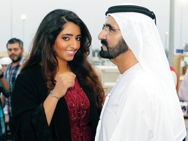 عقد قران الشيخة مريم بنت محمد بن راشد آل مكتوم