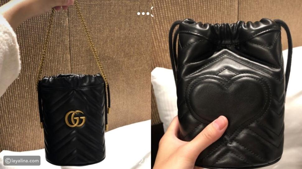 حقيبة غوتشيMarmont mini bucket