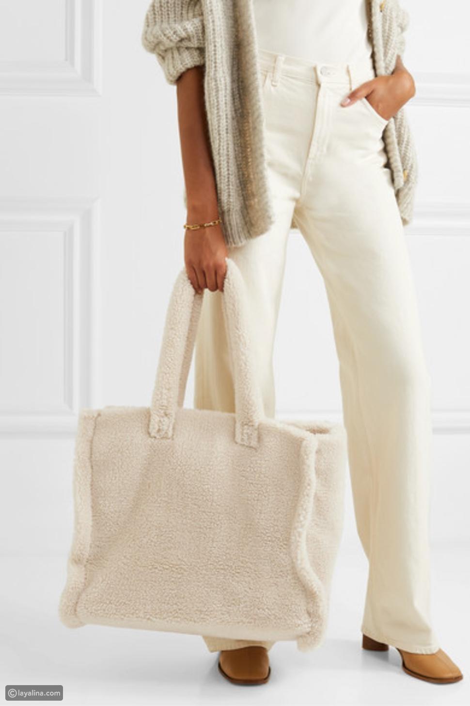 حقيبة الفرو من Stand Studio
