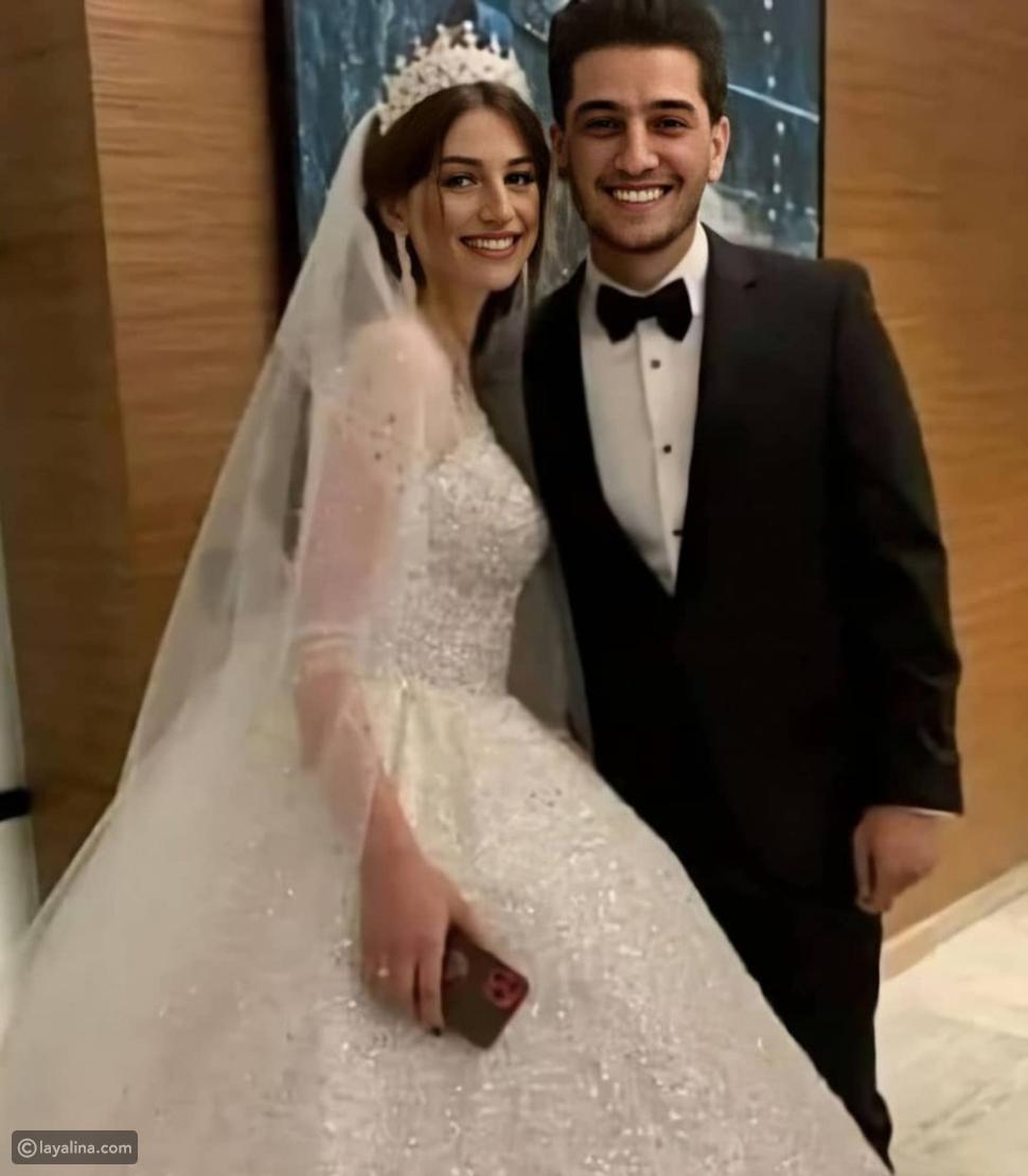 محمد عساف وزوجته من حفل زفافهما