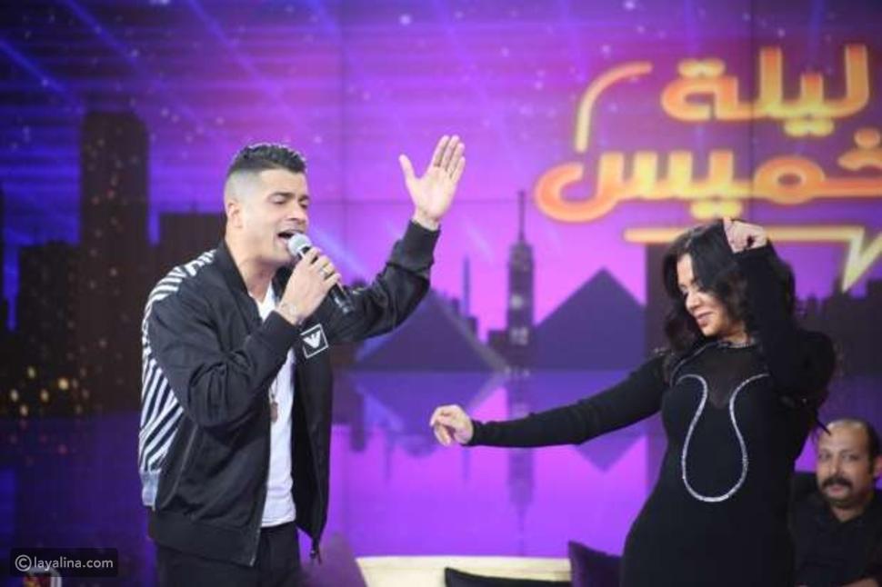 رانيا يوسف ترقص على غناء حسن شاكوش