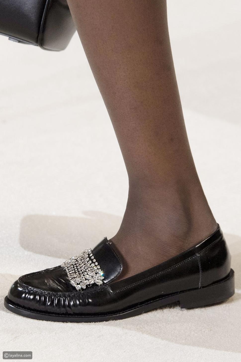 حذاء لوفرز لامع