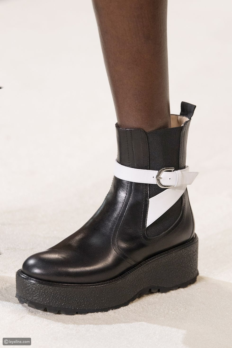 حذاء تشيلسي سميك