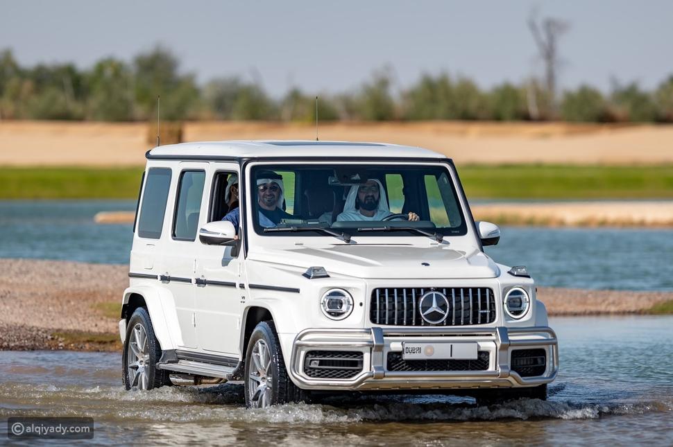 هذه السيارات المفضلة لهؤلاء الشيوخ في الإمارات