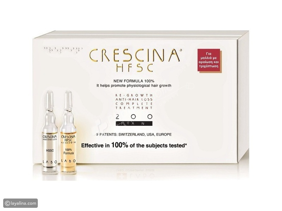 Crescina HFSC 100% Formula Complete Treatment 1300 MAN