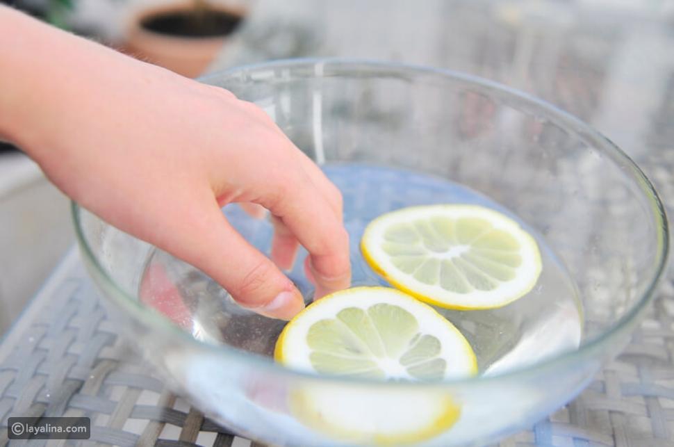 عصير الليمون والزيت لتقوية الأظافر