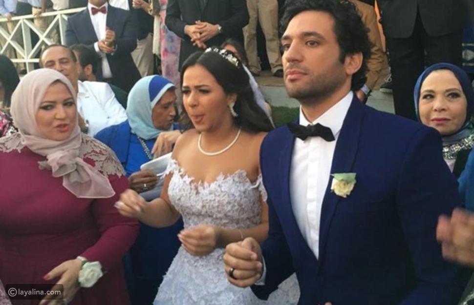 زواج حسن الرداد وإيمي سمير غانم