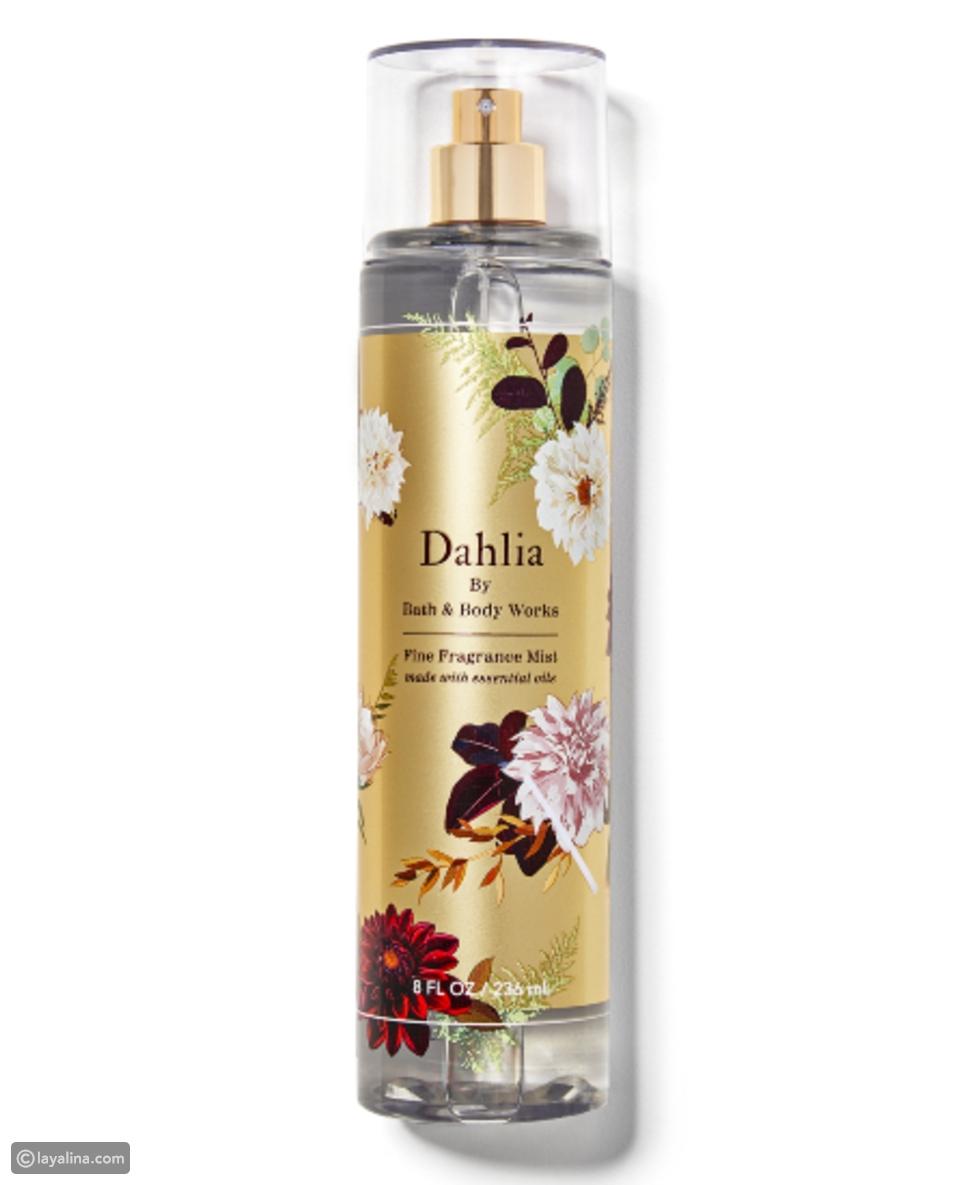 Dahlia Fine Fragrance Mist