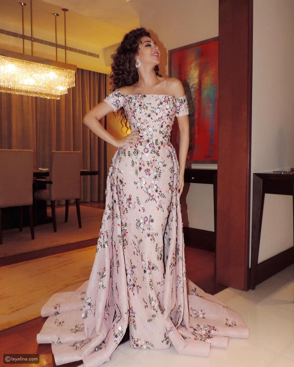 صور ميريام فارس وآيشواريا راي في نفس الفستان من المصمم رامي القاضي من بدت أجمل به؟
