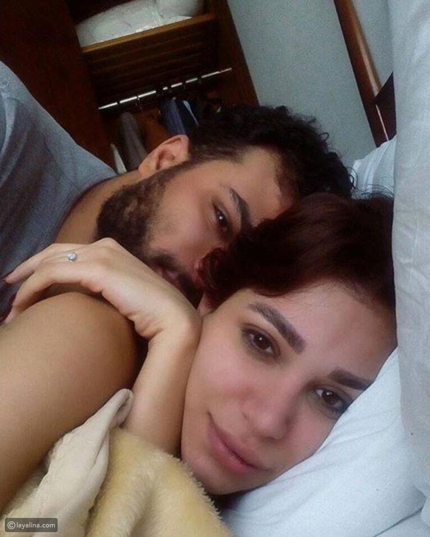 أحمد عبد الله محمود وزوجته سارة نخلة