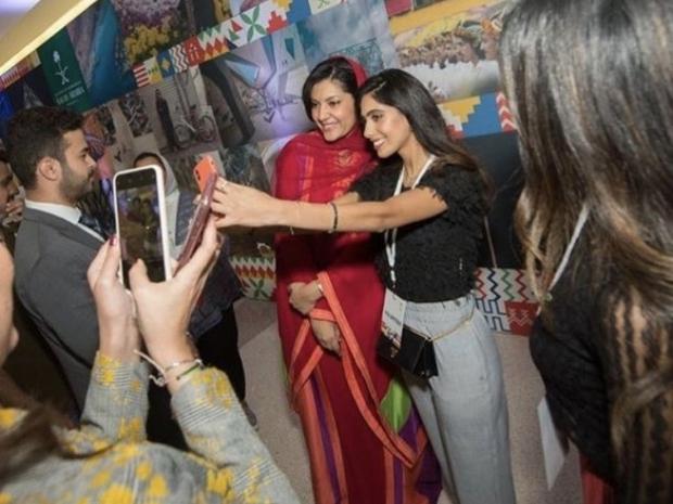 الأميرة ريما بنت بندر تحتفل باليوم الوطني السعودي في أمريكا