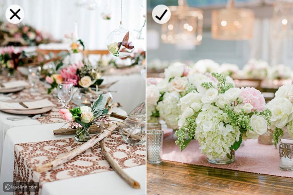 ديكور ريفي لحفلة الزفاف