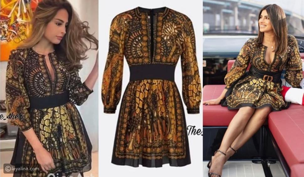 فوز الفهد تكرر إطلالة بريانكا تشوبرا التي تحمل توقيع دار Dior