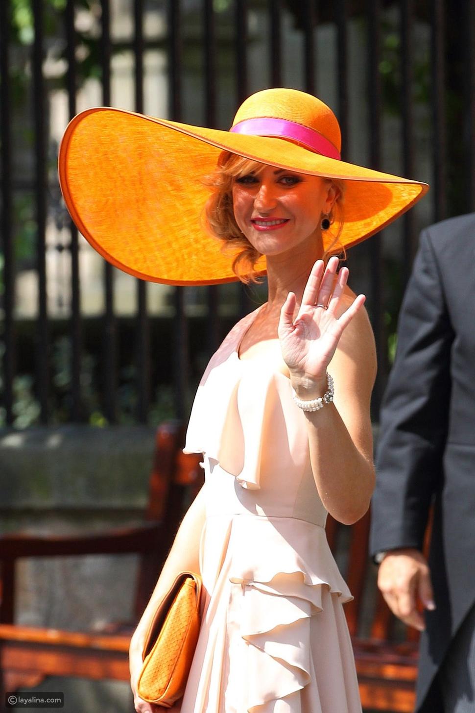 قبعة ملونة