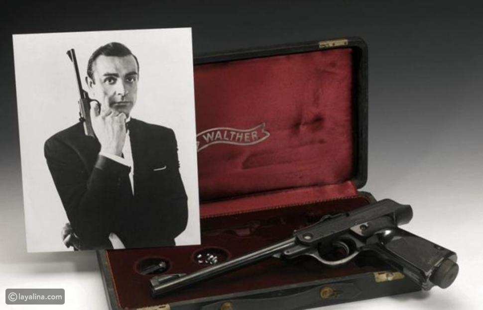 بيع مسدس جيمس بوند مقابل ربع مليون دولار أمريكي