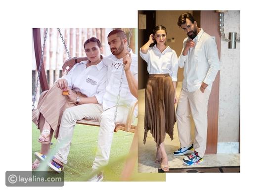 أجمل إطلالات ثنائيات مشاهير الخليج