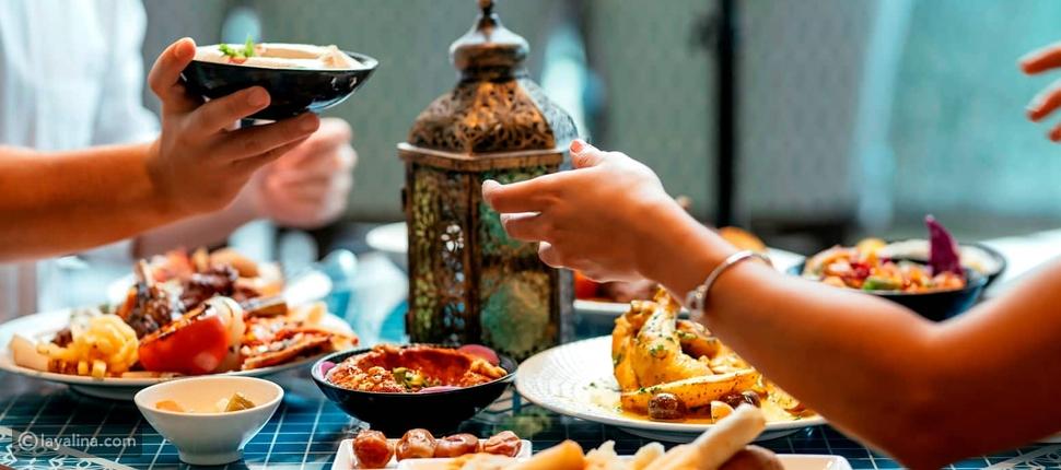 عروض المأكولات الرمضانية في دبي