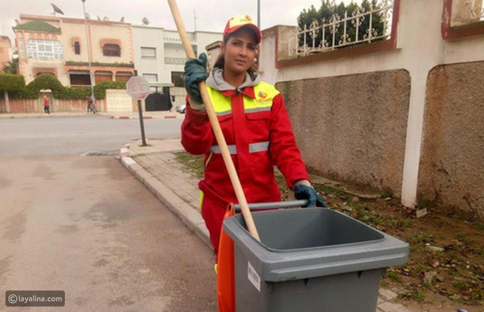 """عاملة نظافة مغربية تحصد لقب """"ملكة جمال"""" وصور تكشف قصتها المؤثرة"""