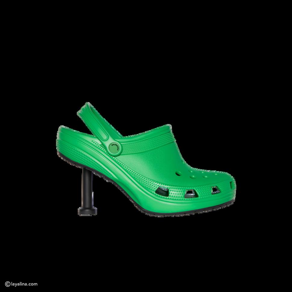 حذاء كروكس ذو الكعب العالي