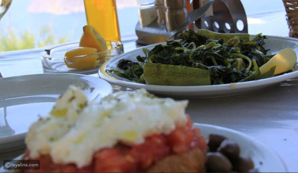 الطعام في اليونان